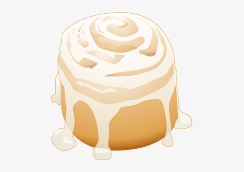 Cinnamon Roll Png.