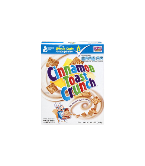 Cinnamon Toast Crunch.
