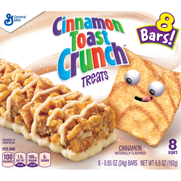 General Mills Cinnamon Toast Crunch Treats (0.85 oz) from Food Lion.