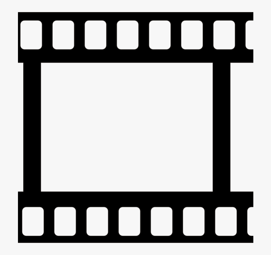 Film Reel Clipart Black And White.