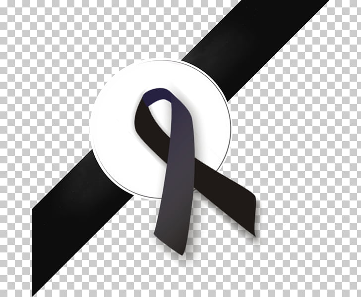 Cinta de la conciencia del cáncer negro, luto de la cinta.