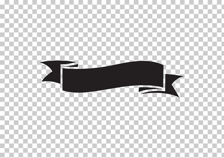 Ilustración de cinta negra, silueta de cinta, cinta negra.