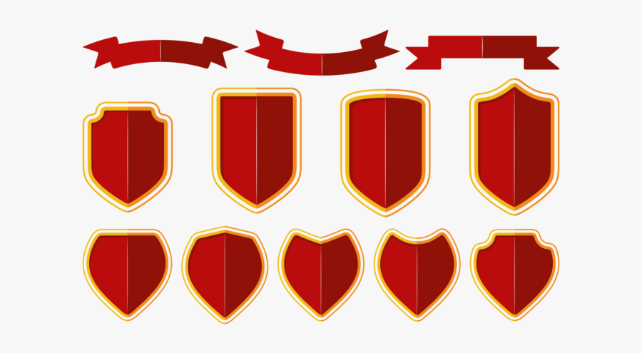 Blason / Shield / Ribbon Vector.