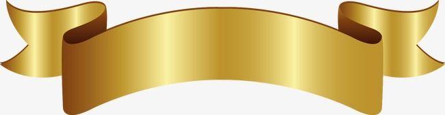 Gold Ribbon Vector Design, Fashion Labels, Creative Ribbon, Ribbon.