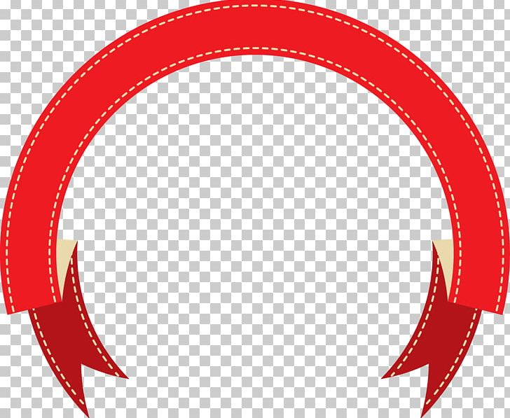 Ribbon Red Web Banner PNG, Clipart, Area, Banner, Circle.