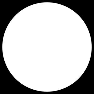 White Round Clip Art at Clker.com.