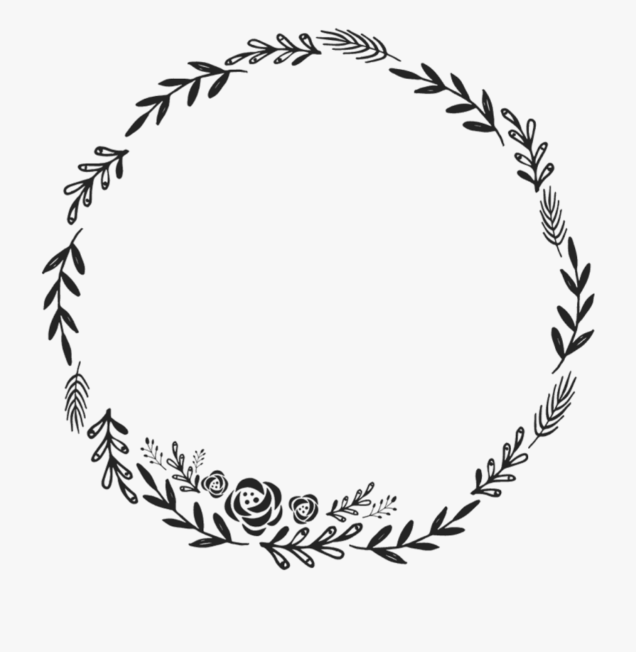 Circle Border Design Png Clip Art Transparent.