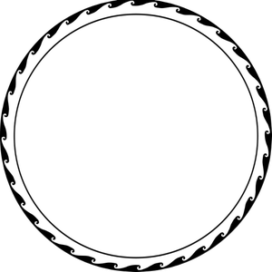 3846 circle border clip art.