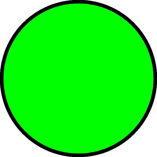 Green Circle Clip Art at Clker.com.