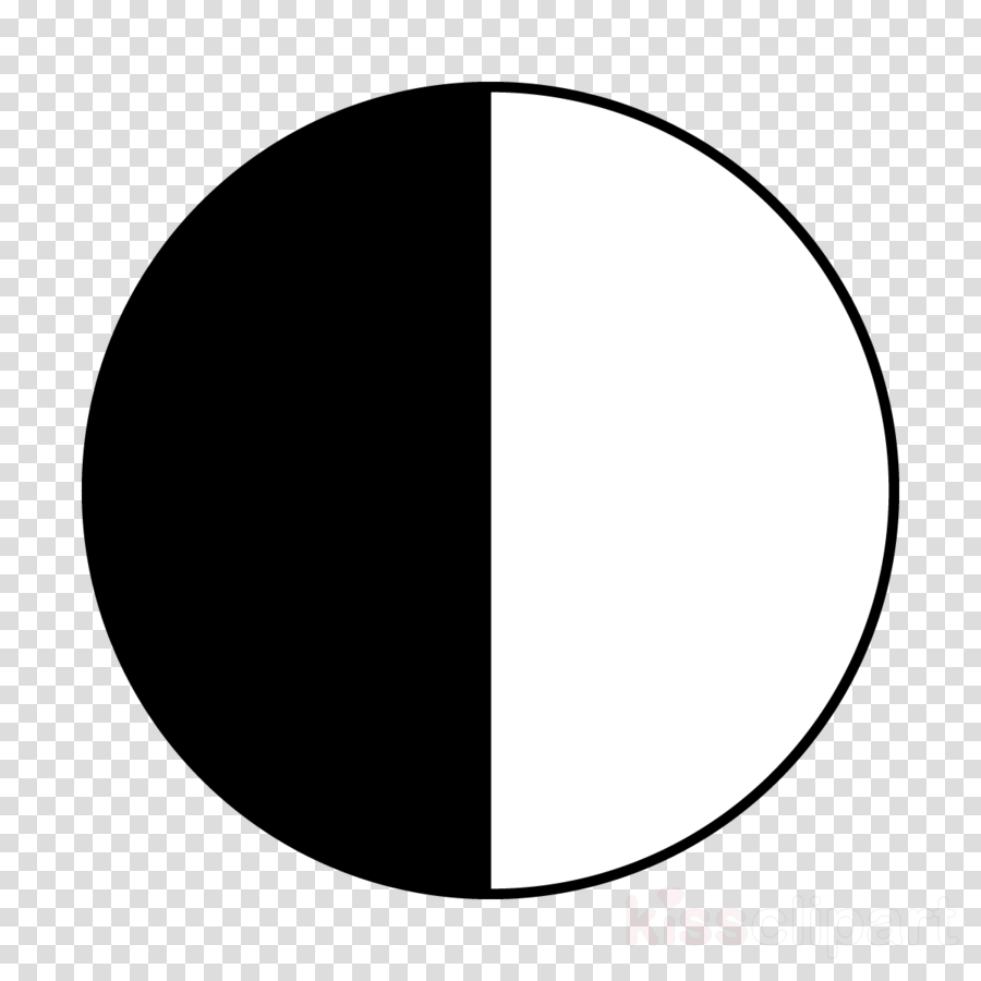 Black And White Half Circle Clipart Semicircle Computer.