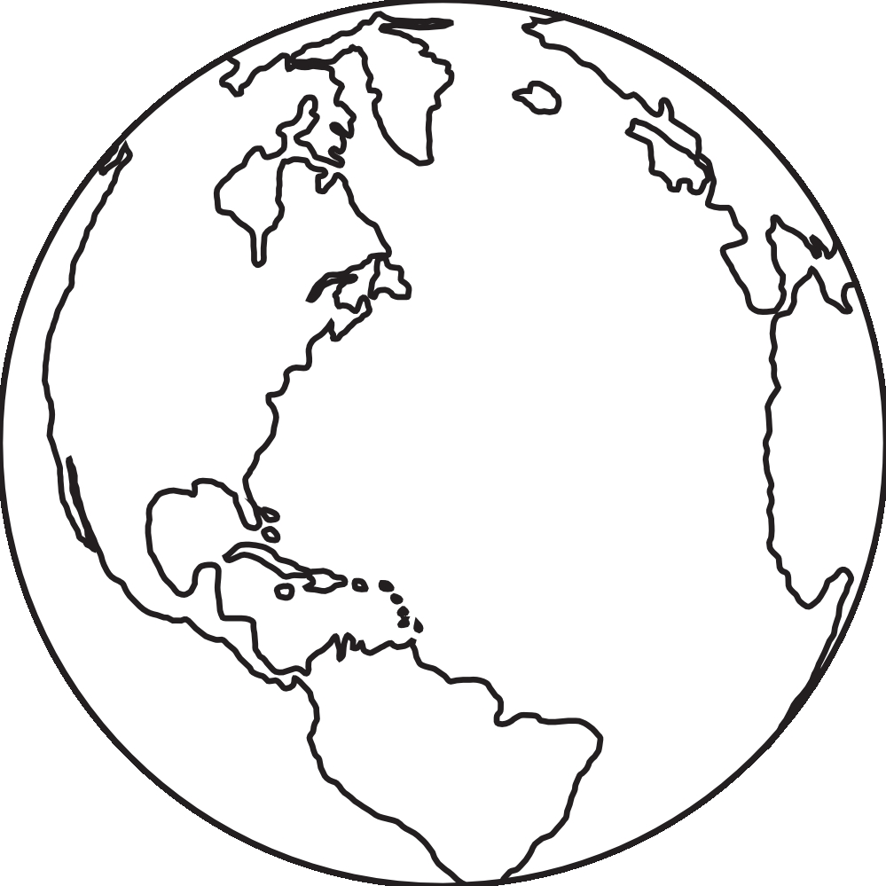 Globe picture black and white pictures and png.