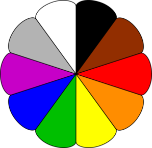 Color Circle Clipart.