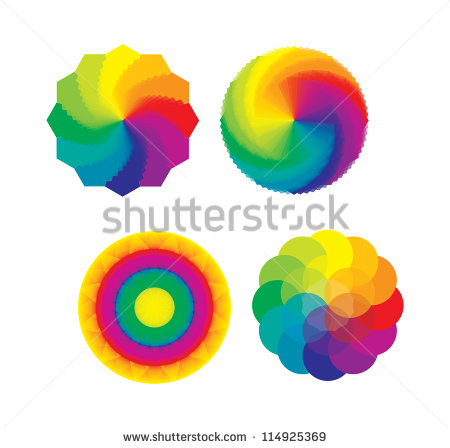 Theory Of Color Stock Images, Royalty.