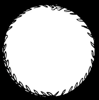 free digital and printable circle doodle tags and digi stamp.