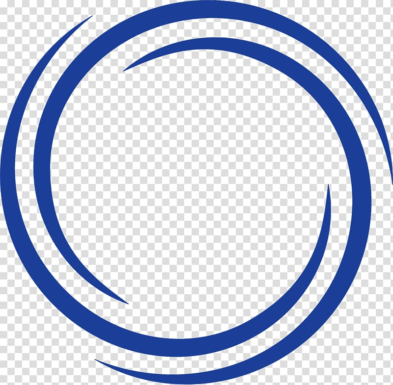 Blue logo, Circle Logo Symbol Font, templates transparent.