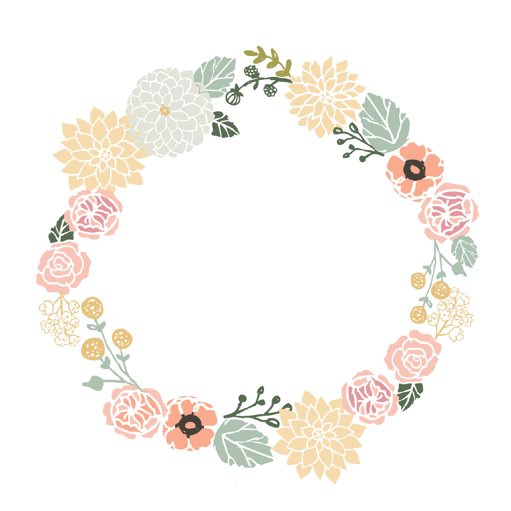 Floral Wreath.
