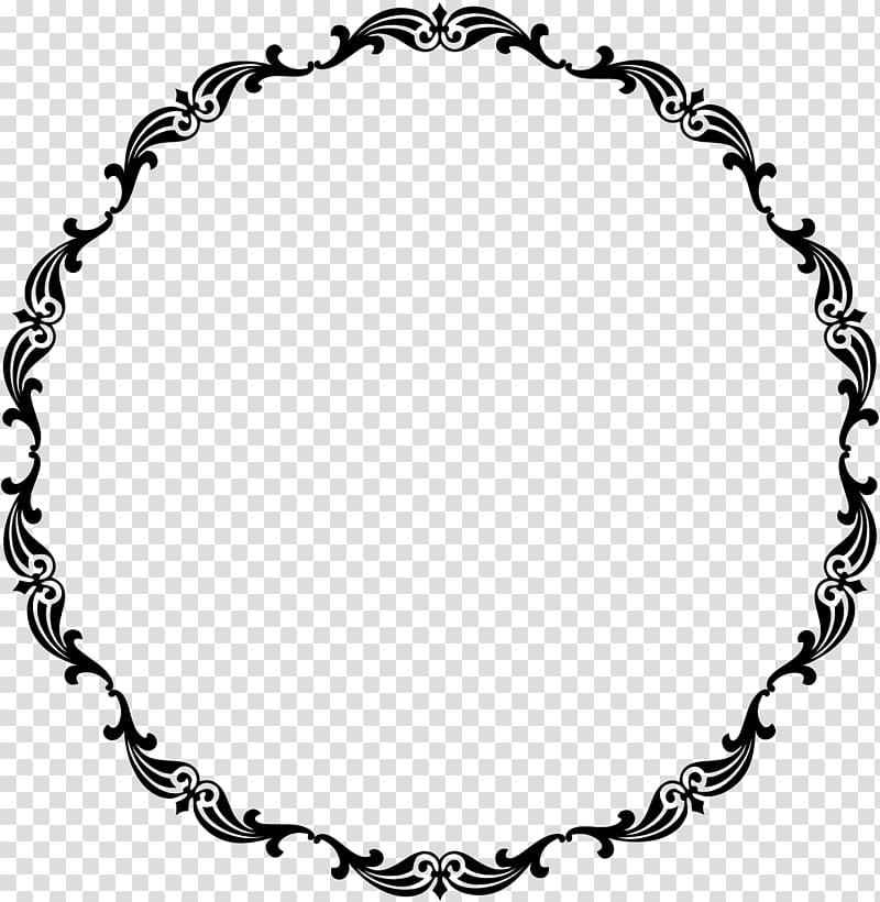 Victorian era Frames , circle frame transparent background PNG.