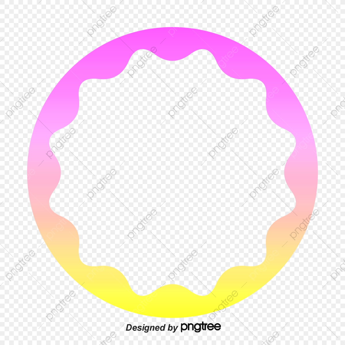 Color Circle Frame, Color Clipart, Circle Clipart, Frame Clipart PNG.