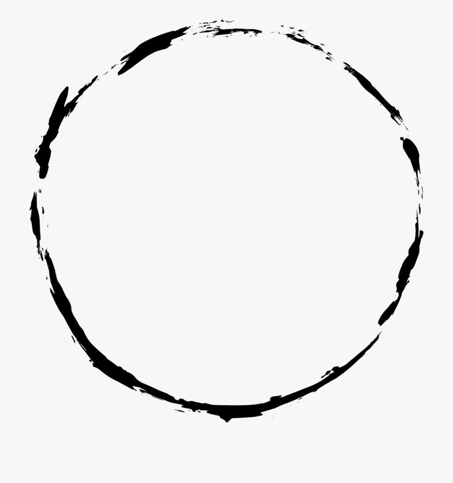 Black Circle Frame Png.