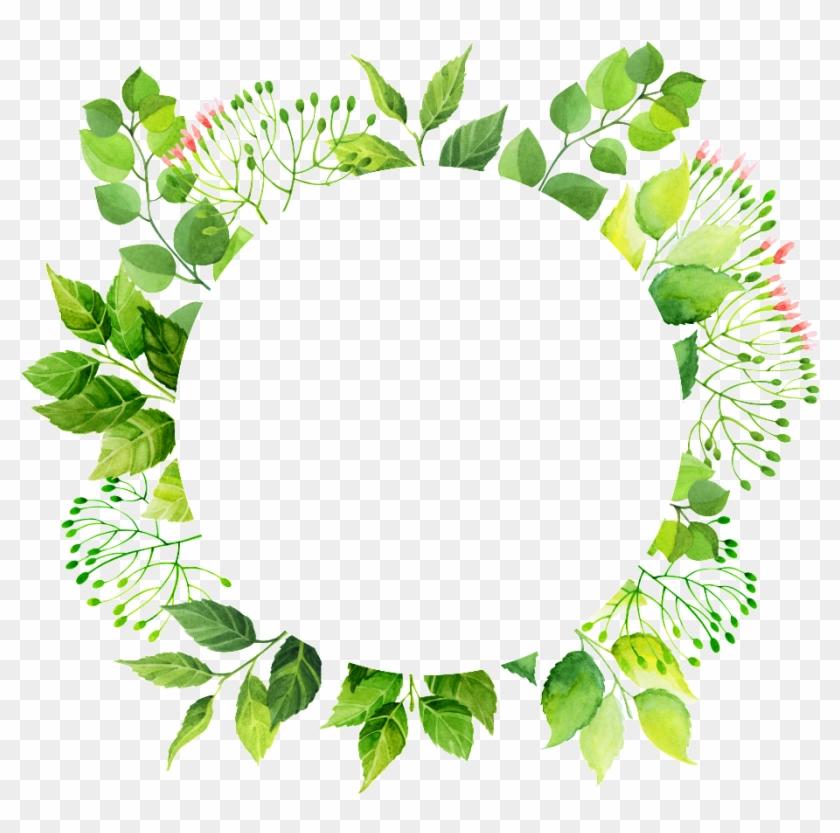 Green Circle Frame Png Transpa Free Files.