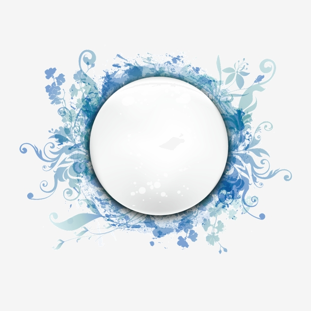 Round Frame PNG Images.