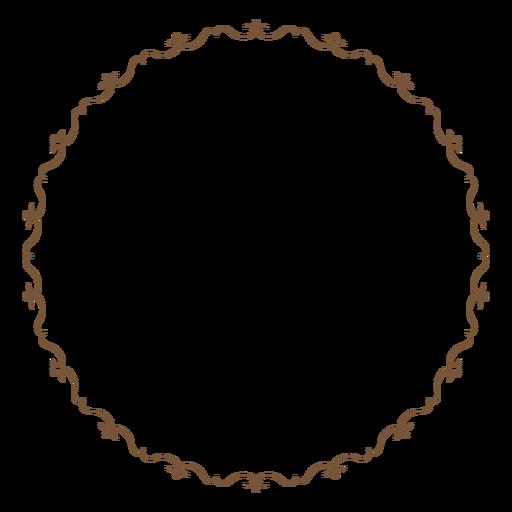 Download Circle Frame PNG Image.