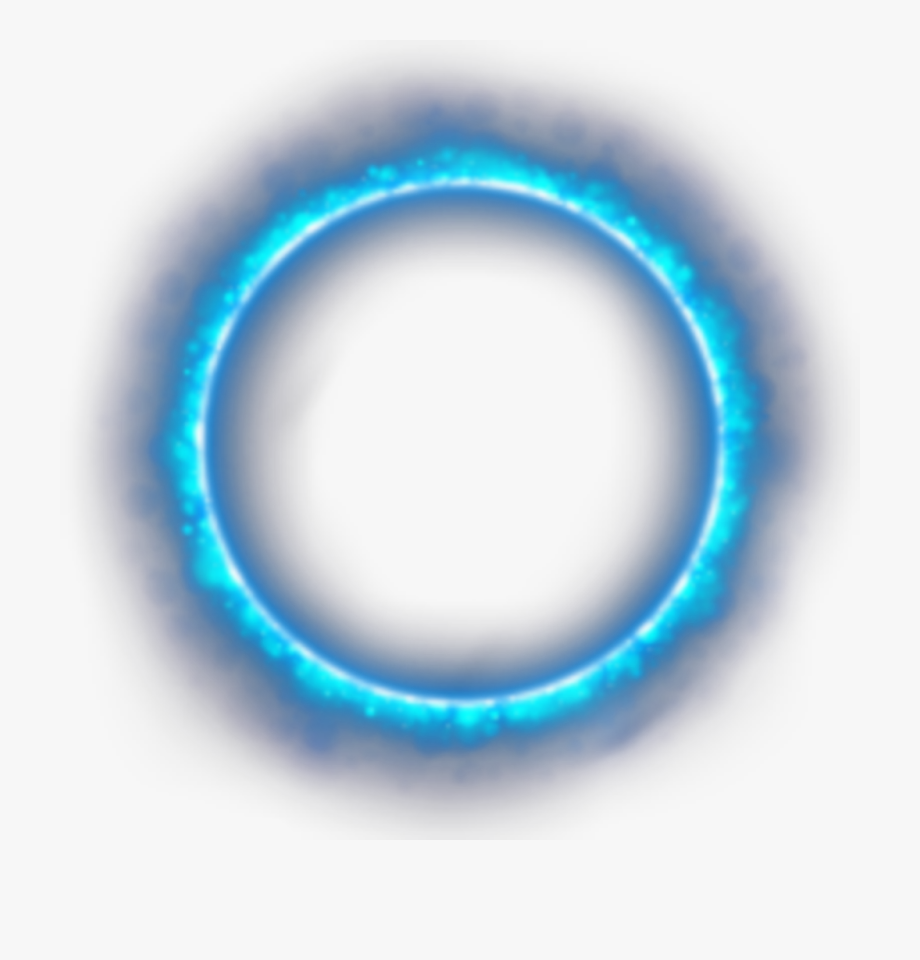 ftestickers #clipart #circle #blue #light #flame.
