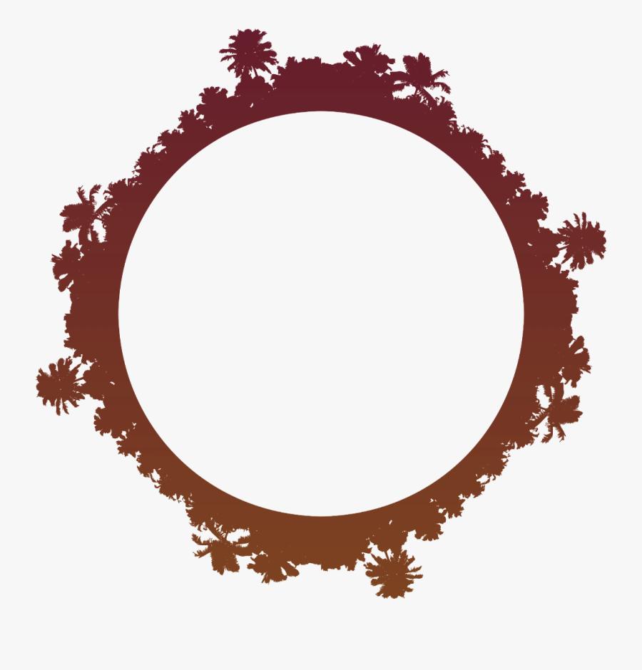 ftestickers #frame #palm #palms #circle #hd #4asno4i.