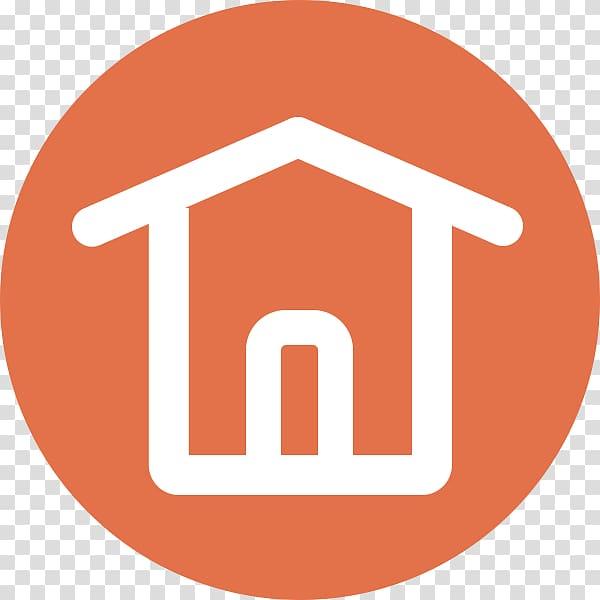 House Circle Icon, Round house icon transparent background.
