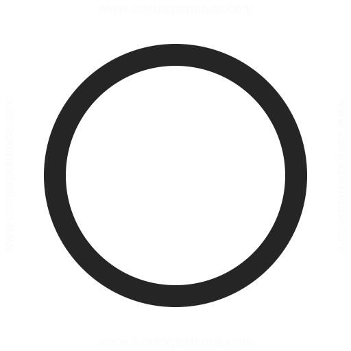 Shape Circle Icon.