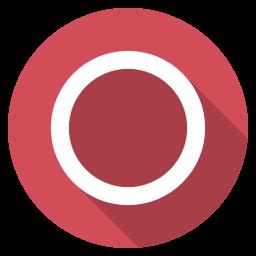 Playstation circle Icon.