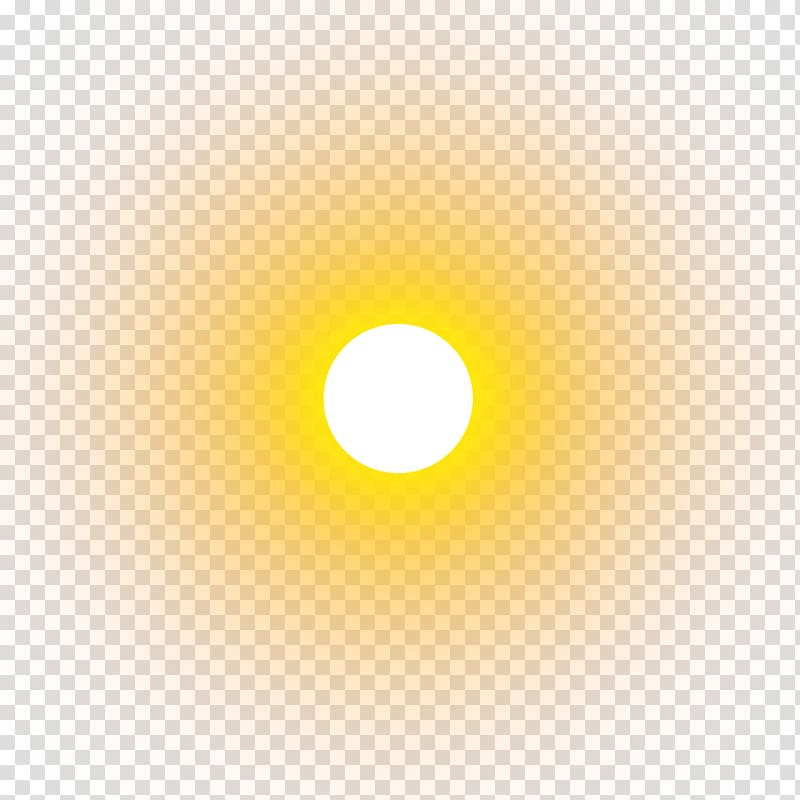 Yellow Circle , real sun , sun transparent background PNG clipart.