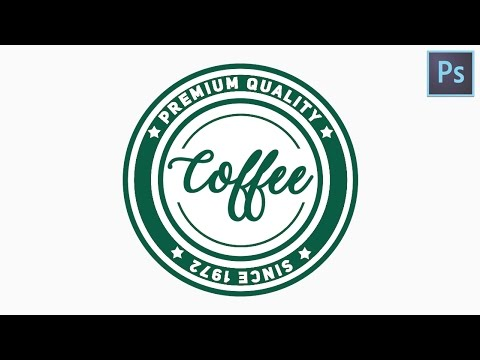 How to create a Circular Logo | Photoshop tutorial Logo Design| Text on  circular path.
