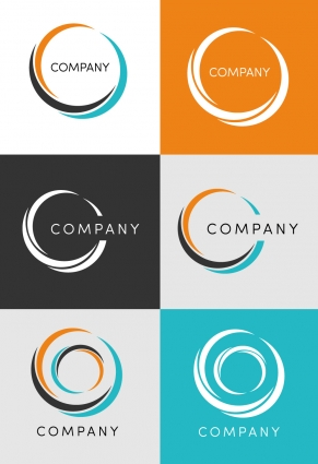Corporate circle logo vector design Vector.
