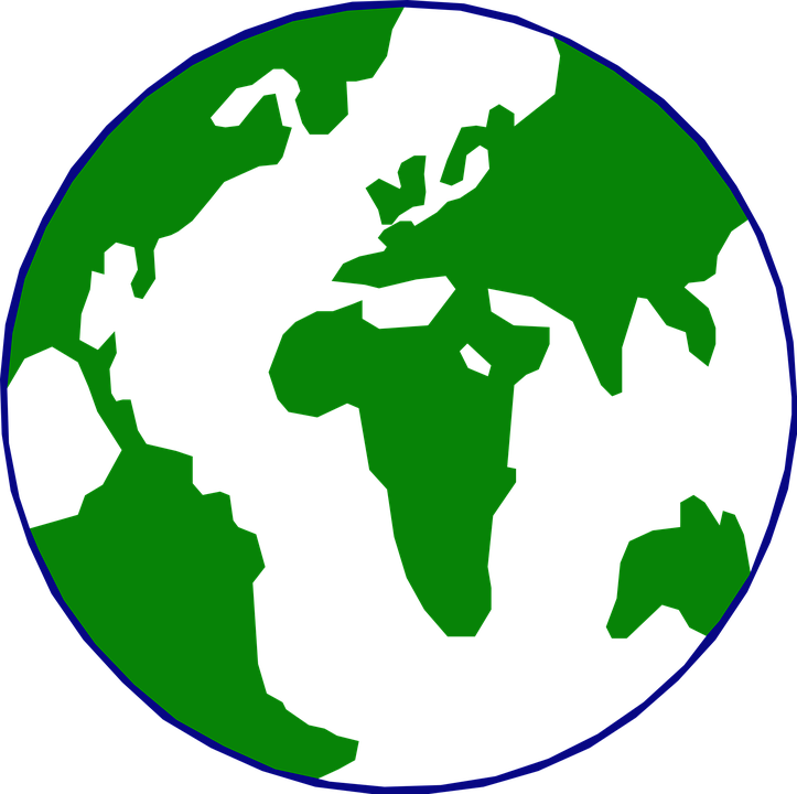 Free vector graphic: Earth, Globe, World, Planet.