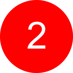 Number in a circle clipart.