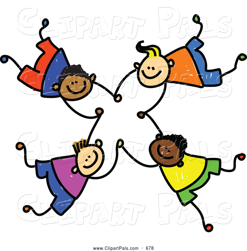 Circle Of Friends Clipart.