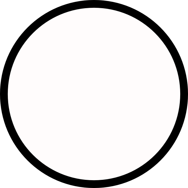 Black Circle Medium Outline PNG, SVG Clip art for Web.