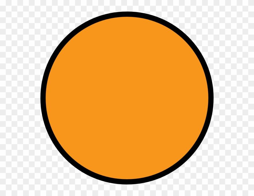 Orange Circle Black Outline Clipart (#299887).