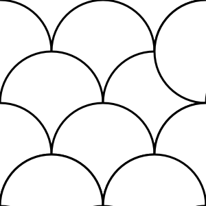 Circles Pattern Tile Clip Art at Clker.com.