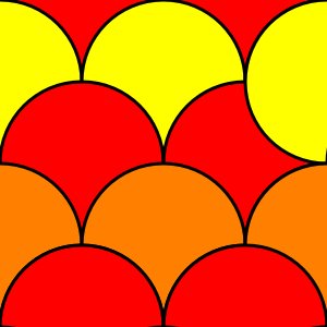 Open Circle Pattern Clipart.