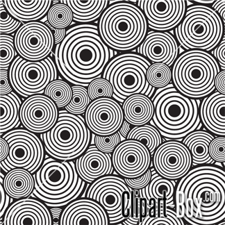 Circle Pattern Clip Art.