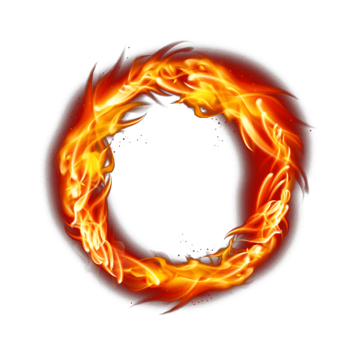 Fire Flame Circle PNG Image Free Download searchpng.com.