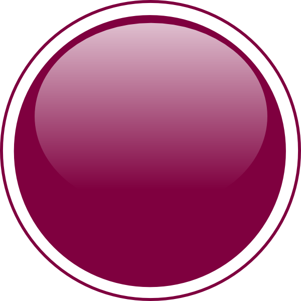 Glossy Purple Circle Button PNG, SVG Clip art for Web.