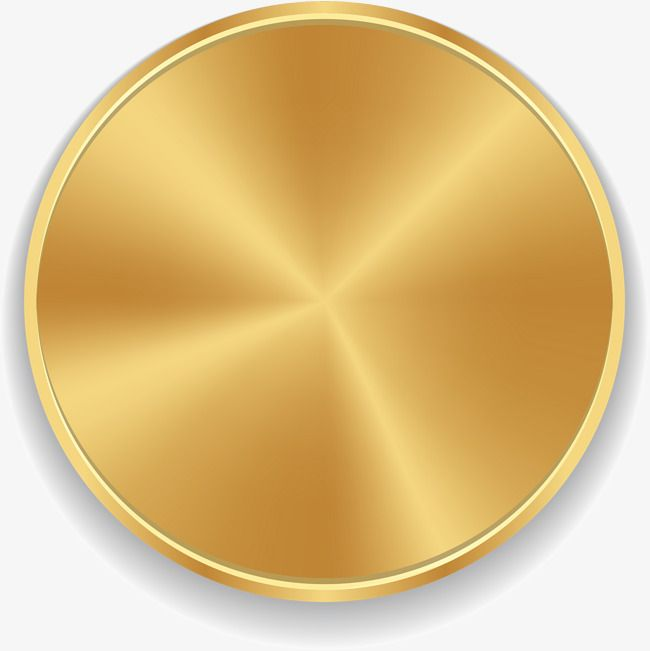 Golden Circle, Circle Clipart, Golden, Shine PNG Transparent.