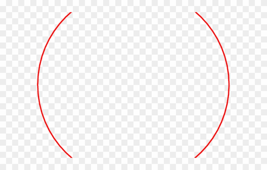 Drawn Circle Png Red.