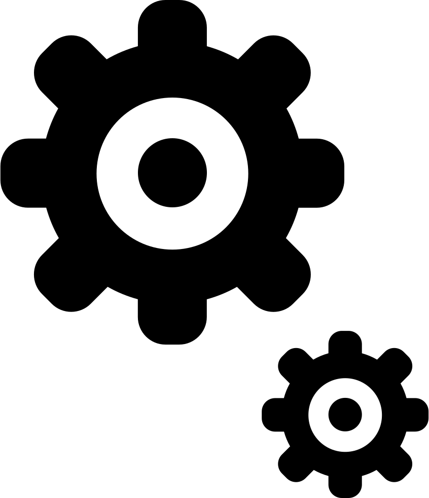 Cogs Settings Gears Options Generate Svg Png Icon Free Download.