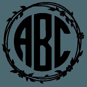Circle monogram font free. Use our free online monogram generator or.