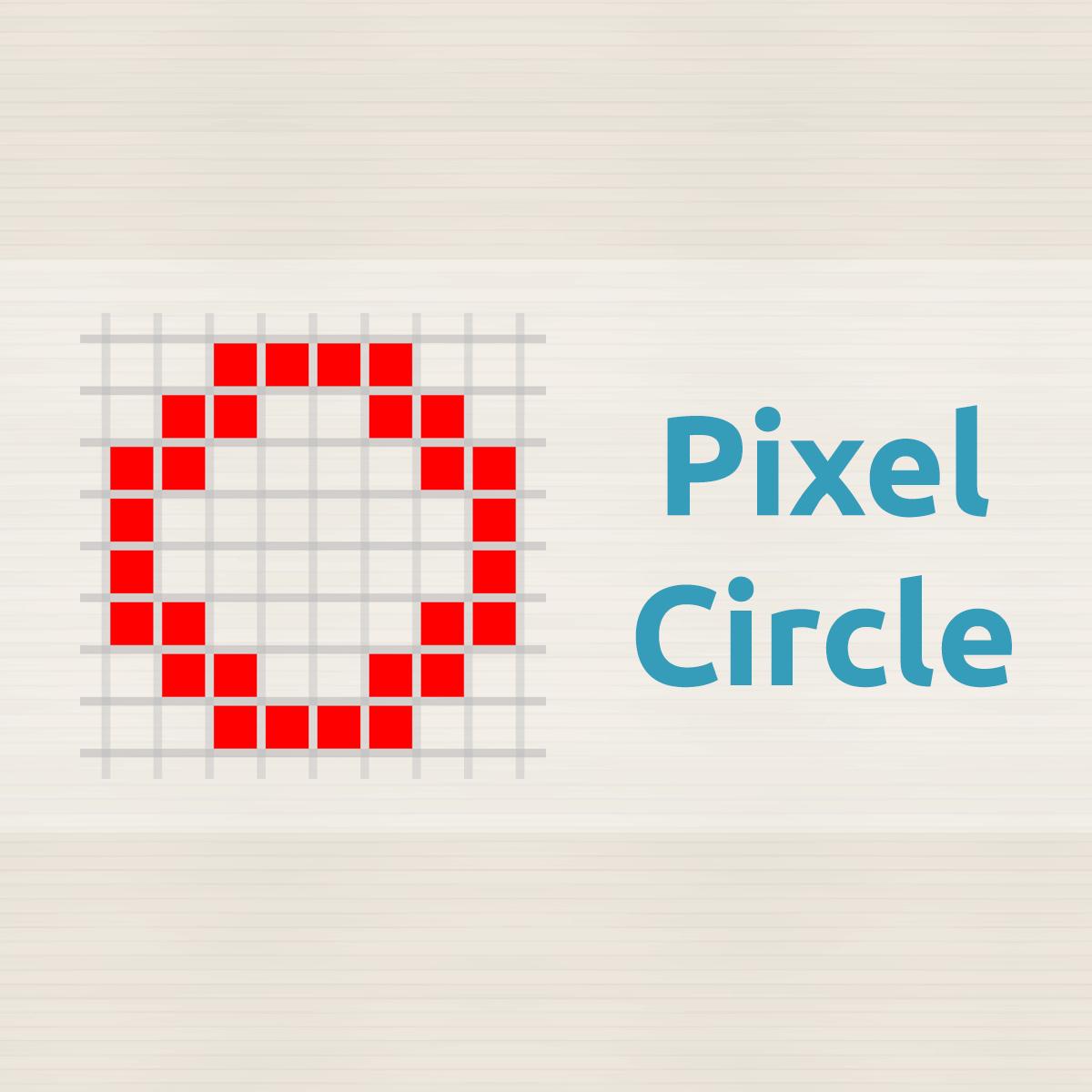 Pixel Circle / Oval Generator (Minecraft) — Donat Studios.