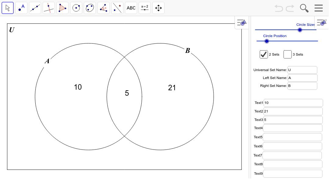 Venn Diagram Generator.